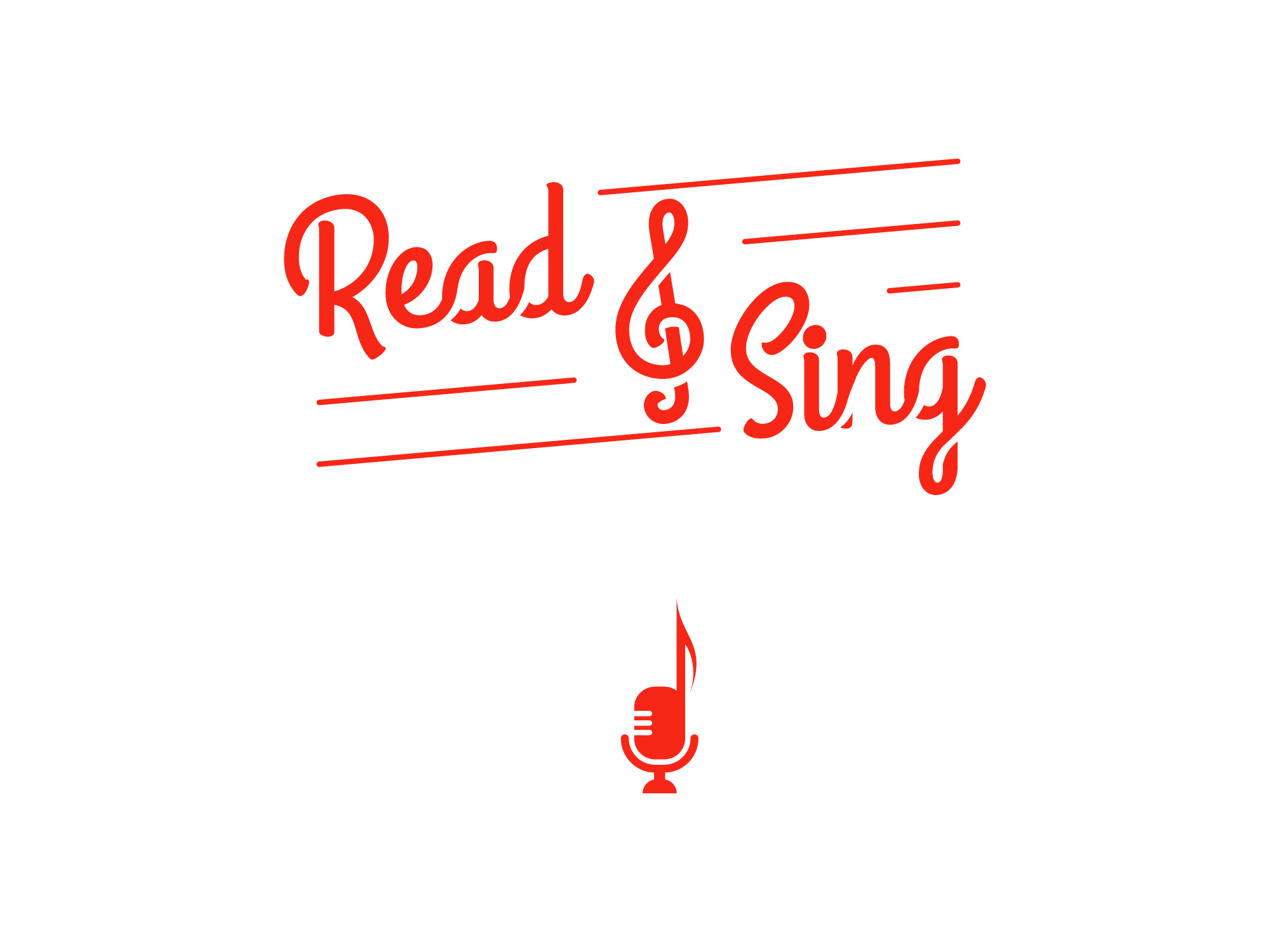 OneZero Design Lab logo-read-sing Projects