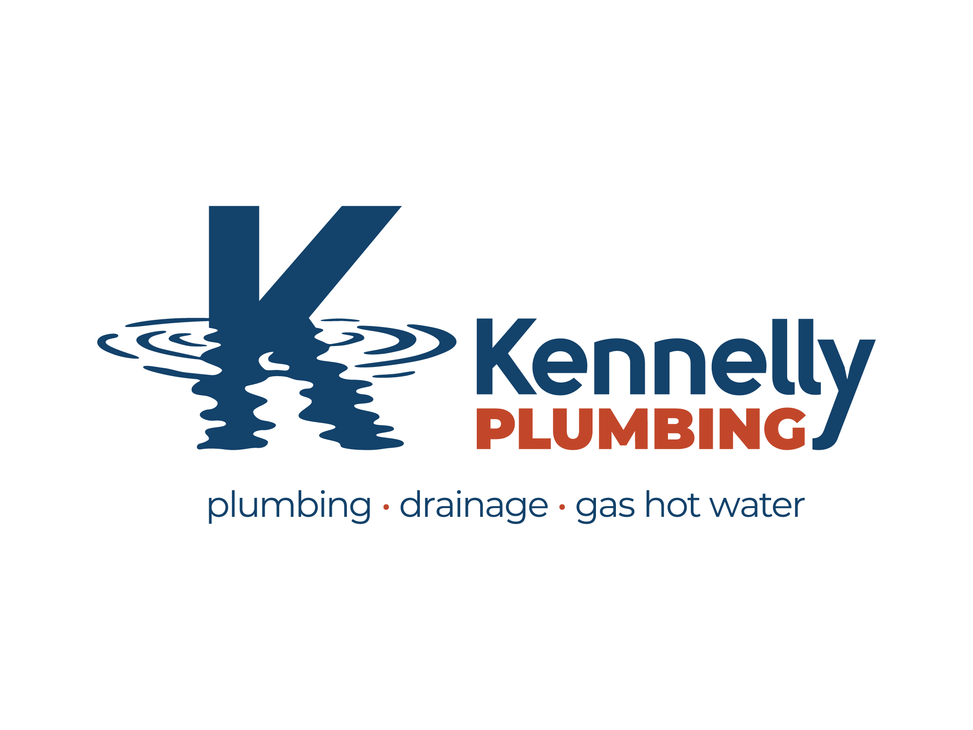 OneZero Design Lab logo-kennelly-plumbing Projects